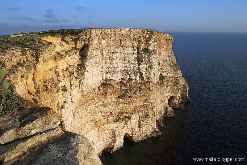 Ta' Cenc cliffs, Gozo