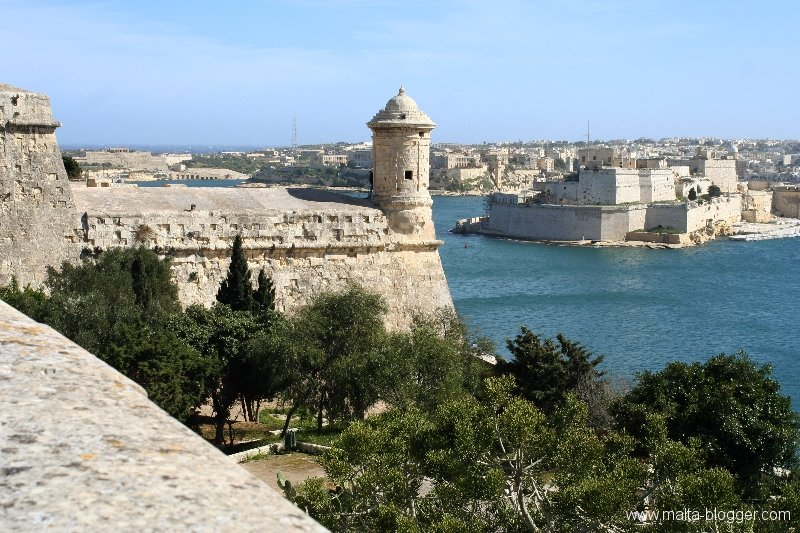 Valletta watchtower