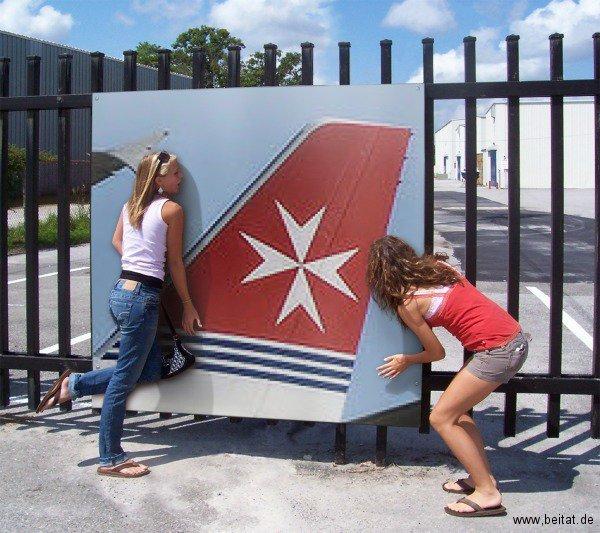 Air Malta's star